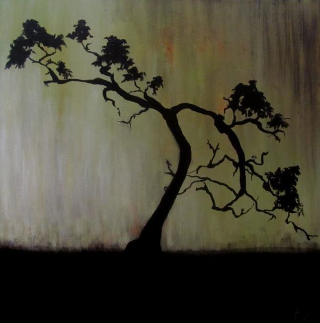 Art: Bonsai by Artist Christine E. S. Code ~CES~