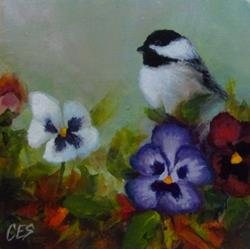 Art: Gardening Luck by Artist Christine E. S. Code ~CES~