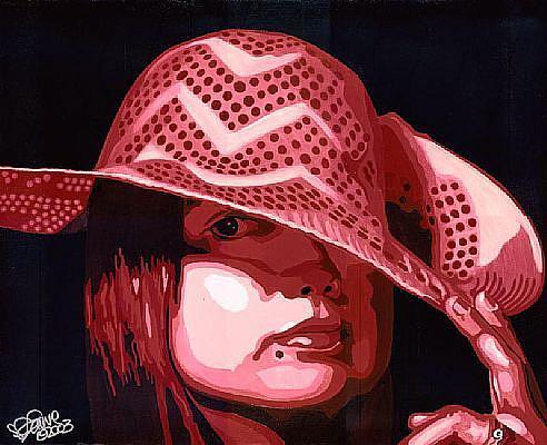 Art: Portrait of Erika Nelson by Artist Leanne Wildermuth