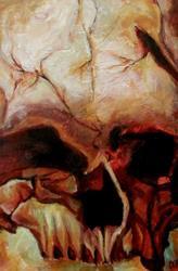 Art: Cro-Magnon by Artist Christine E. S. Code ~CES~