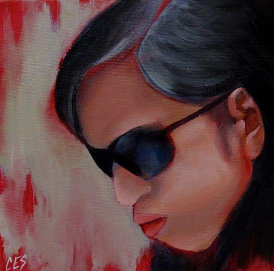 Art: The Introvert by Artist Christine E. S. Code ~CES~