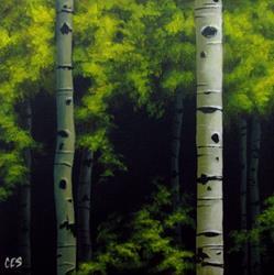 Art: Summer Foliage by Artist Christine E. S. Code ~CES~