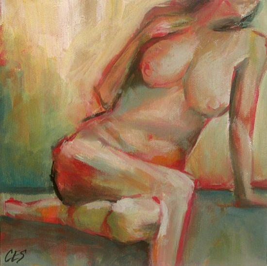 Art: Pose by Artist Christine E. S. Code ~CES~
