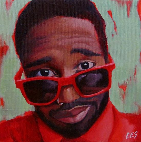 Art: The Entertainer by Artist Christine E. S. Code ~CES~