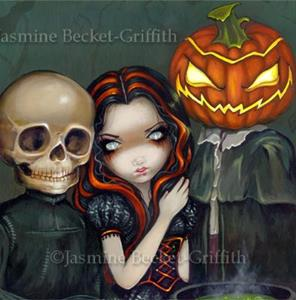 Detail Image for art Out Trick-or-Treating
