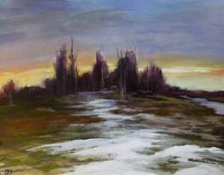 Art: Spring Thaw by Artist Christine E. S. Code ~CES~