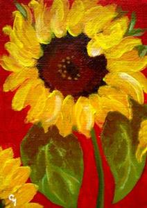 Detail Image for art Sunflowers 2