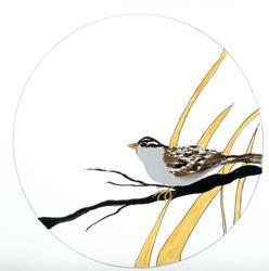 Art: Bird- Sparrow by Artist NoRaHzArT