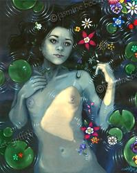 Art: Ophelia Immortal by Artist Jasmine Ann Becket-Griffith