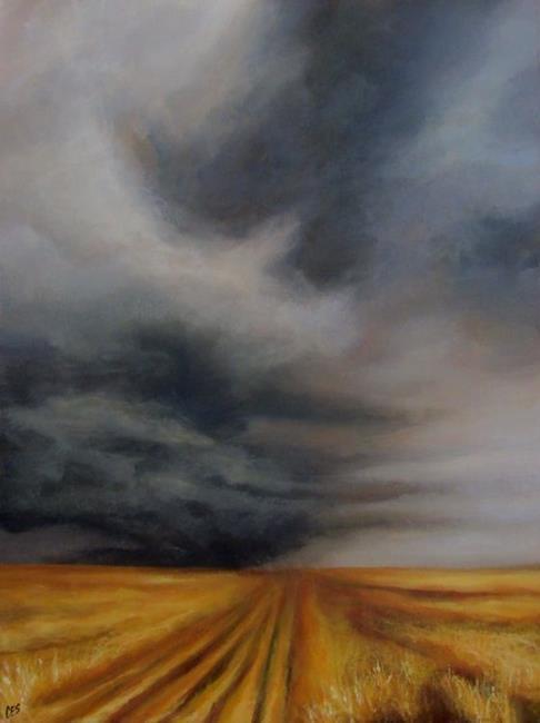 Art: Harvest On Hold by Artist Christine E. S. Code ~CES~