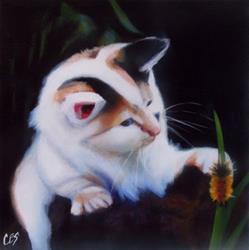 Art: Furry Friends by Artist Christine E. S. Code ~CES~