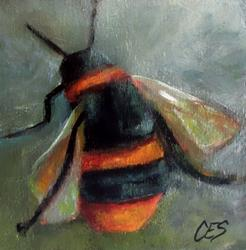 Art: Bee Happy by Artist Christine E. S. Code ~CES~
