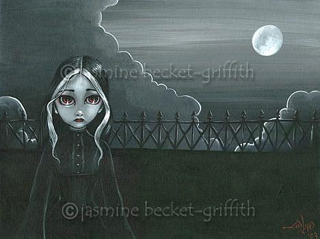 Art: Widow's Walk by Artist Jasmine Ann Becket-Griffith