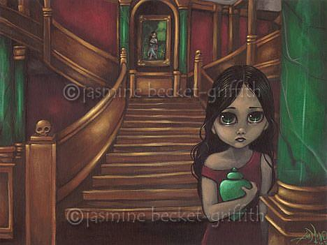 Art: The Magnificent Staircase by Artist Jasmine Ann Becket-Griffith