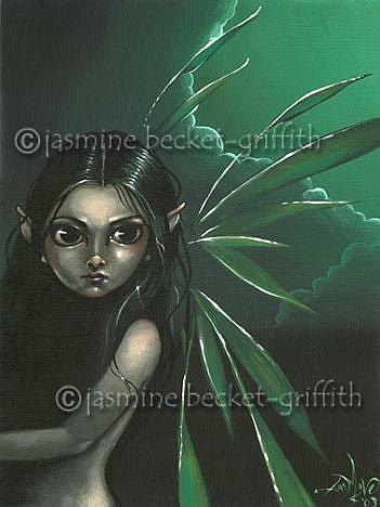 Art: Moonlit Faerie by Artist Jasmine Ann Becket-Griffith