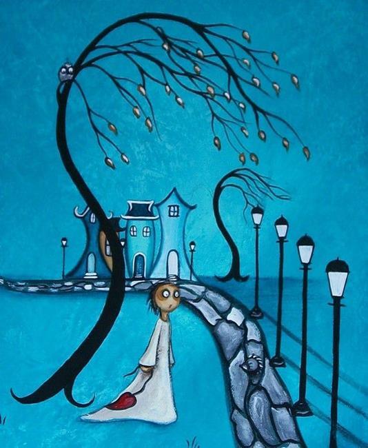 Art: After Dark - sold by Artist Charlene Murray Zatloukal