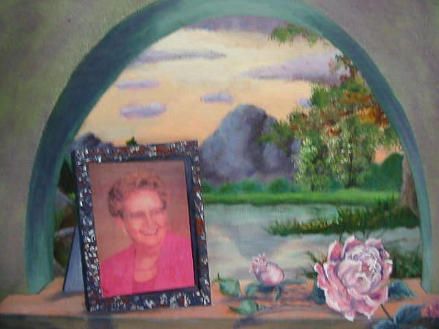 Art: Ol' Pink Rose/SOLD by Artist KikaD