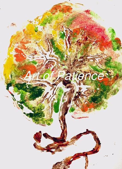 Art: Tree of LIfe Placenta Print I by Artist Patience