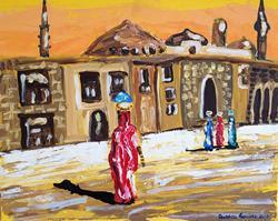 Art: Arabic Orange by Artist Andrea Golino