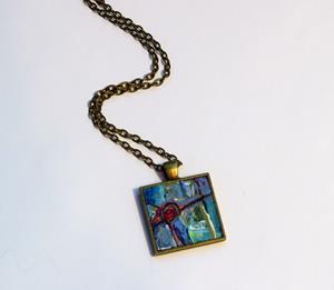 Detail Image for art Inside Wonderland ~ Original Wearable Art - Sold