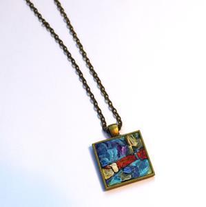 Detail Image for art Hanging Garden ~ Original Wearable Art