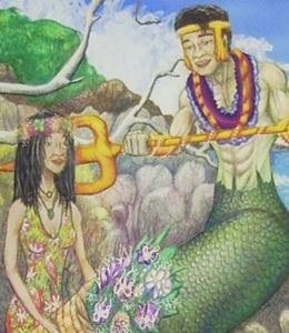 Detail Image for art Birth of Iao Needle