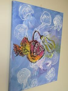 Detail Image for art Steampunk Anglerfish