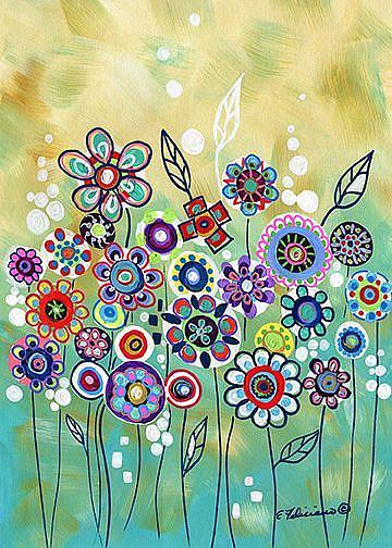 Art: Wishing Garden by Artist Elena Feliciano
