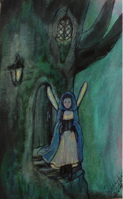 Art: Elsalain by Artist Anna Podhaski