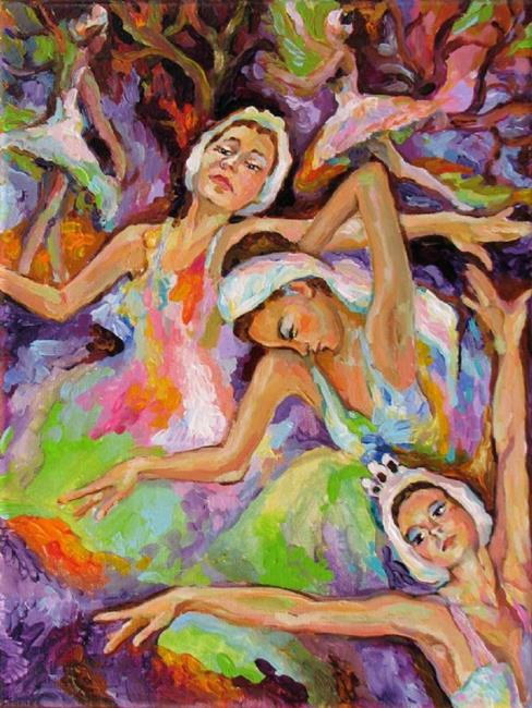 Art: Colors of dance by Artist Luda Angel