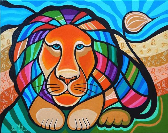 Art: LEO by Artist Javier Martinez