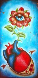 Art: Daisy knows by Artist Jordana