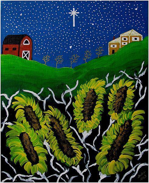 Art: My Blessed Farm by Artist Indiamoss