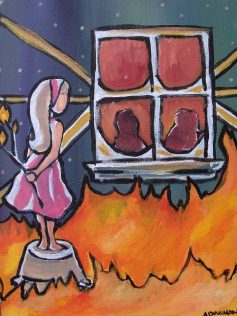 Art: Burning by Artist Aimee L. Dingman