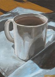 Art: Coffee Break by Artist Aimee L. Dingman