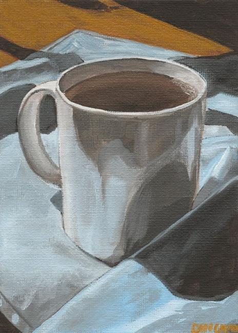 Art: Coffee Break by Artist Aimee L. Dingman