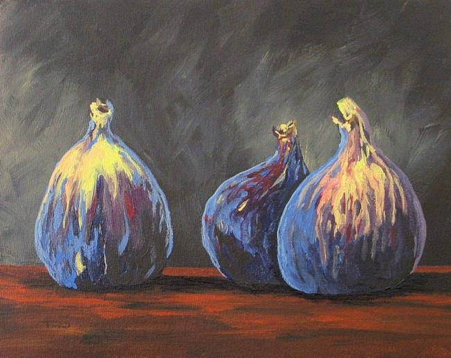 Art: Three Figs by Artist Torrie Smiley