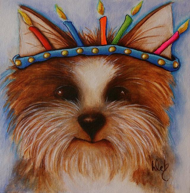 Art: It's My Birthday! by Artist Deb Harvey