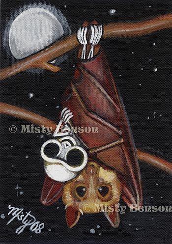 Art: Batty Friends by Artist Misty Monster (Benson)
