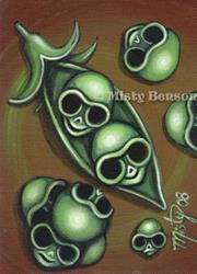 Art: Two Skulls In A Pod by Artist Misty Benson