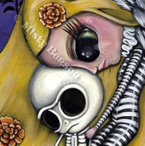 Detail Image for art Going Home - El Dia de Los Muertos Art