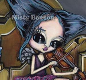 Detail Image for art New Orleans Lament - Fairy Art