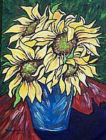 Art: Sunflower Serenity by Artist Melanie Douthit