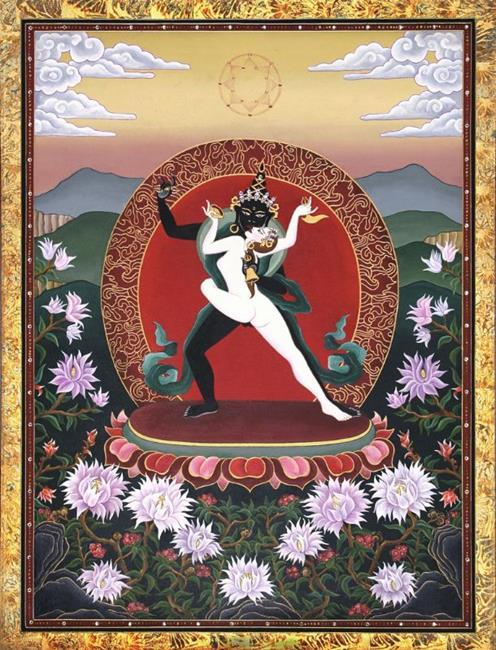 Art: Samvara Supreme Bliss by Artist Nadean O'Brien