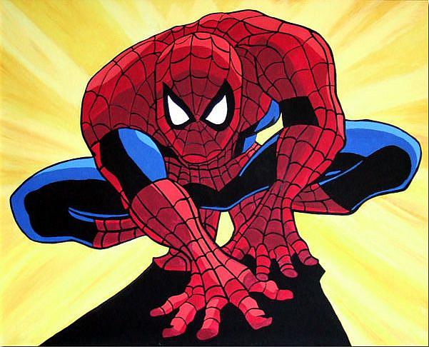 Spiderman pop art - photo#17