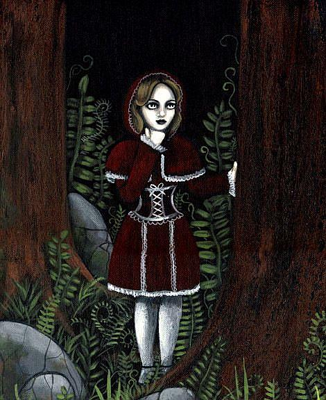 Art: Red Riding Hood by Artist Jasmine Ann Becket-Griffith