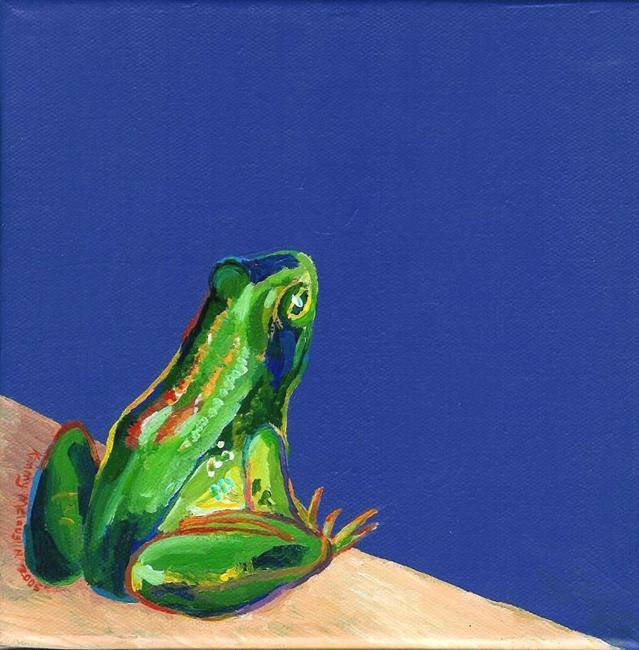 Art: Taking The Leap (Sold) by Artist Kimberly Vanlandingham