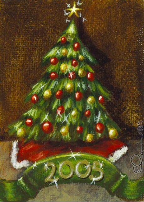 Christmas tree by elaina wagner from