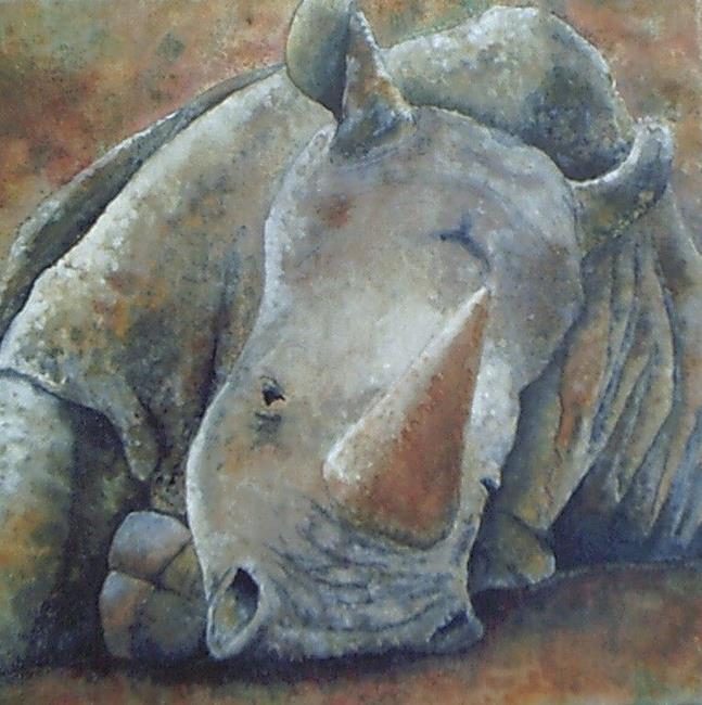 Art: Sleeping Giant by Artist Kimberly Vanlandingham