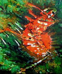 Art: Bug by Artist Lisa Thornton Whittaker